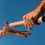 transition graphic--passing the baton