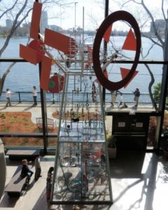 Audio-Kinetic Sculpture, Museum of Science, Boston
