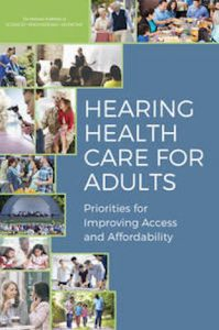 front cover of Hearing Health Care for Adults report